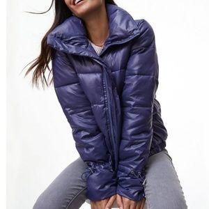 LOFT Puffer Jacket in Violet Mist